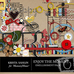 Enjoy the Moment Embellishment Pack-$3.99 (Krista Sahlin)