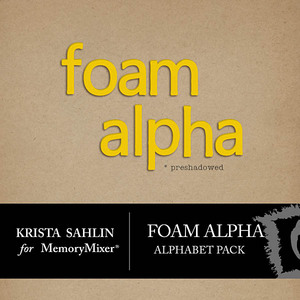 Foam alpha medium