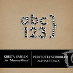 Perfectly Scribbled Alphabet Pack-$1.99 (Krista Sahlin)