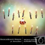 Birthday Alphabet Pack-$0.50 (MagicalReality Designs)