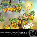 Birdie party alpha small
