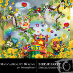 Birdie Party Embellishment Pack-$2.99 (MagicalReality Designs)