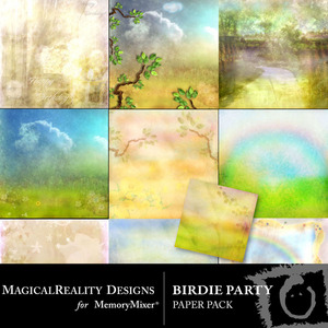 Birdie party pp medium