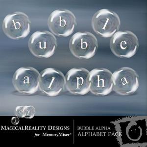 Bubble alpha medium