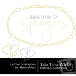 Take Time Wk 09 Embellishment Pack-$0.00 (Lasting Impressions)