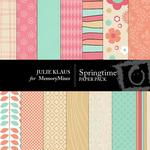 SpringTime Paper Pack-$3.99 (Julie Klaus)