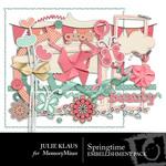 SpringTime Embellishment Pack-$2.99 (Julie Klaus)