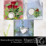 Elegant Love Quick Page QuickMix Set-$2.49 (MagicalReality Designs)