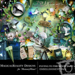 Flying to the Moon PART 1 Embellishment Pack-$2.99 (MagicalReality Designs)