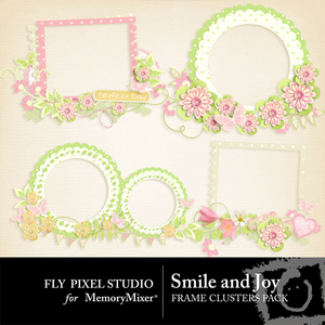Smile and joy frame clusters medium