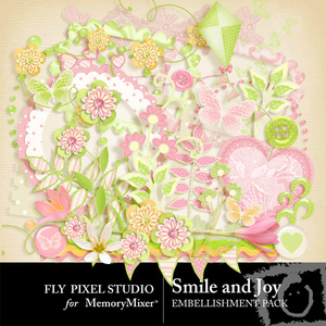 Smile and joy emb medium