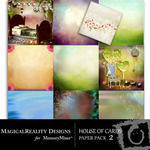 House of Cards Paper Pack 2-$3.99 (MagicalReality Designs)