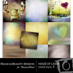House of Cards Paper Pack 1-$3.99 (MagicalReality Designs)