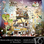 House of Cards Embellishment Pack-$2.99 (MagicalReality Designs)