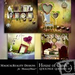 House of Cards Quick Page QuickMix Set-$3.49 (MagicalReality Designs)