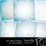 Lets Fly Paper Pack-$2.99 (Fly Pixel Studio)