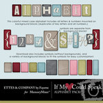 If My Heart Could Speak Alphabet Pack-$0.99 (Ettes and Company by Fayette)