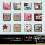 If My Heart Could Speak Flair Pack-$0.99 (Ettes and Company by Fayette)