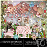 Friendship Party Embellishment Pack-$3.49 (MagicalReality Designs)