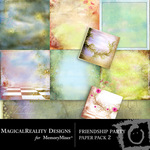Friendship Party Paper Pack 2-$3.99 (MagicalReality Designs)
