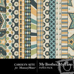 My Brother My Hero Paper Pack-$3.99 (Carolyn Kite)