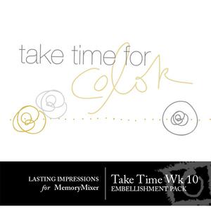 Take time wk 10 medium