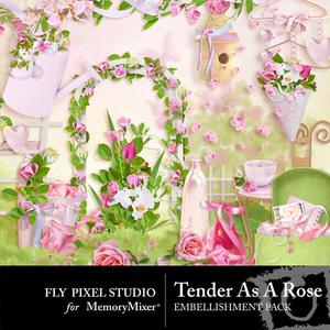 Tender as a rose emb medium
