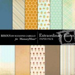 Extraordinary Easter Paper Pack-$3.99 (Bisous By Suzanne Carillo)