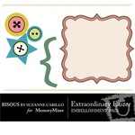 Extraordinary Easter Embellishment Pack-$0.49 (Bisous By Suzanne Carillo)