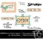 Extraordinary Easter WordArt Pack-$0.49 (Bisous By Suzanne Carillo)