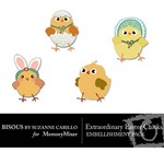 Extraordinary Easter Chicks-$0.49 (Bisous By Suzanne Carillo)