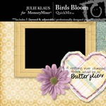 Birds Bloom QuickMix-$2.00 (Julie Klaus)