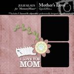 Mothers Love QuickMix-$3.50 (Julie Klaus)