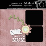 Mothers Love QuickMix-$3.50 (Julie Klaus)