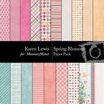 Spring Blossom Paper Pack-$3.99 (Karen Lewis)