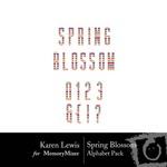 Spring Blossom Alphabet Pack-$0.99 (Karen Lewis)