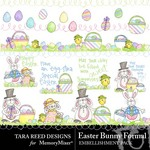 Easter Bunny Formal Embellishment Pack-$1.49 (Tara Reed Designs)