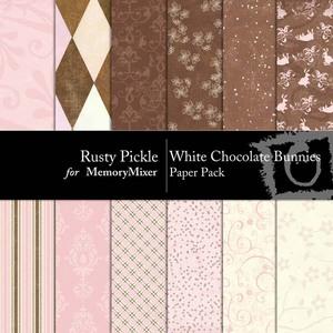 White chocolate bunnies pp medium