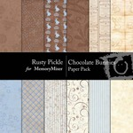 Chocolate Bunnies Paper Pack-$3.99 (Rusty Pickle)