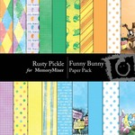 Funny Bunny Paper Pack-$3.99 (Rusty Pickle)