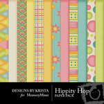 Hippity Hop Paper Pack-$3.99 (Designs by Krista)