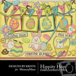 Hippity Hop Embellishment Pack-$2.99 (Designs by Krista)