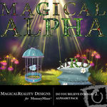 Do You Believe in Magic 2 Alphabet Pack-$0.99 (MagicalReality Designs)