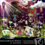 Do You Believe in Magic 2 Embellishment Pack-$3.49 (MagicalReality Designs)