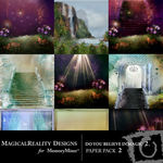 Do You Believe in Magic 2 Paper Pack 2-$3.99 (MagicalReality Designs)