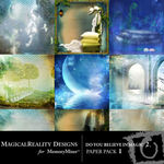 Do You Believe in Magic 2 Paper Pack 1-$3.99 (MagicalReality Designs)