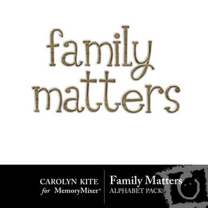 Family matters alpha medium