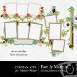 Family Matters Cluster Pack-$2.49 (Carolyn Kite)