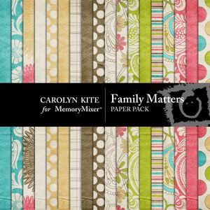 Family matters pp medium