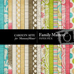 Family Matters Paper Pack-$3.99 (Carolyn Kite)